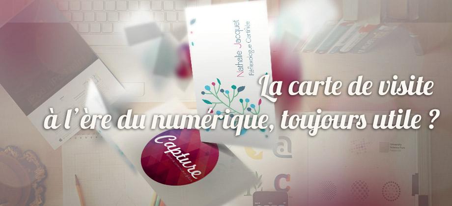 MArketing - La Carte de Visite - Agence Communication Caen