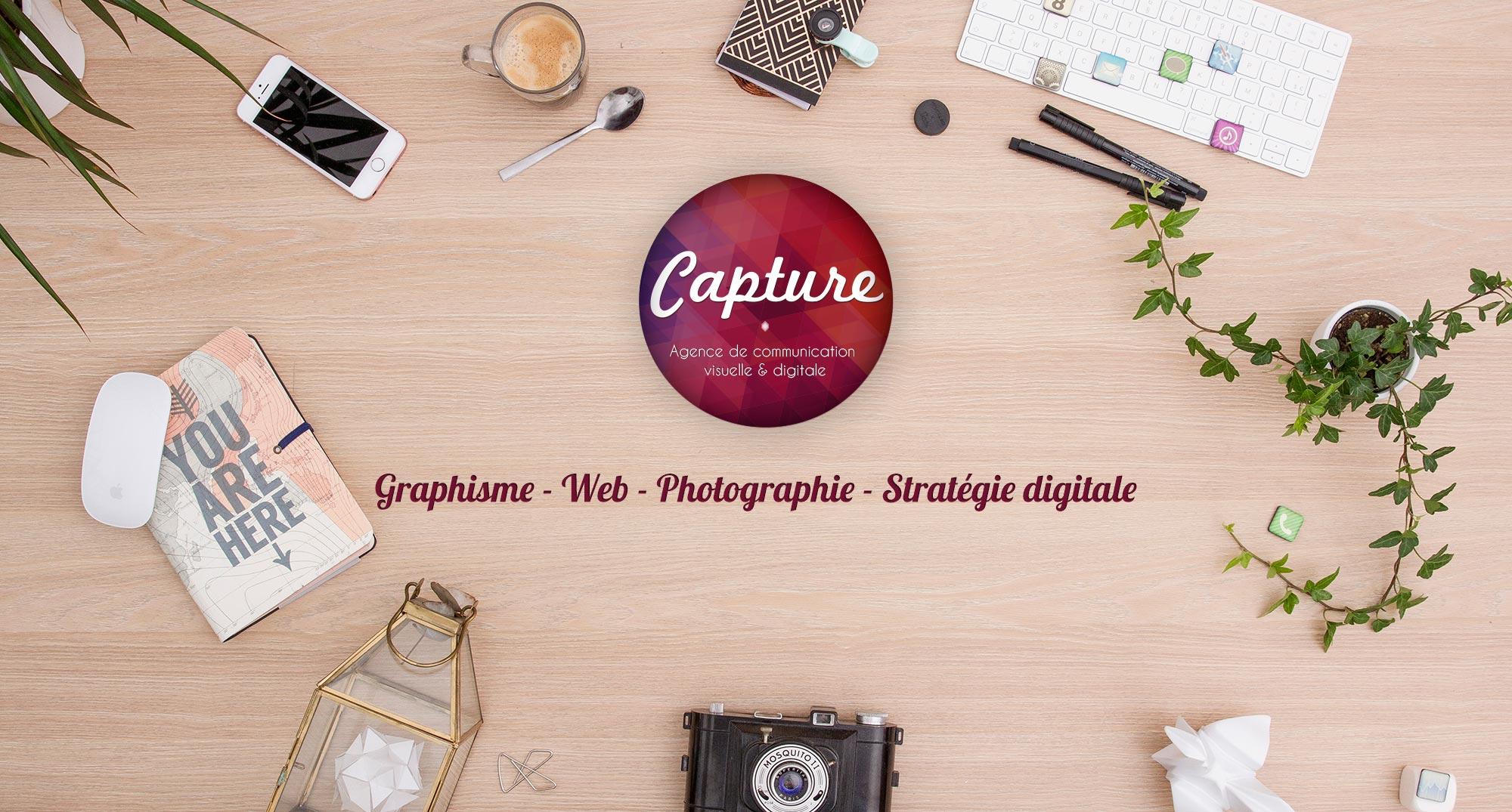 Capture Communication Agence de communication visuelle digitale Caen Normandie