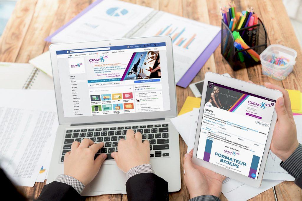 Craf2s - Strategie Digitale Reseaux Sociaux