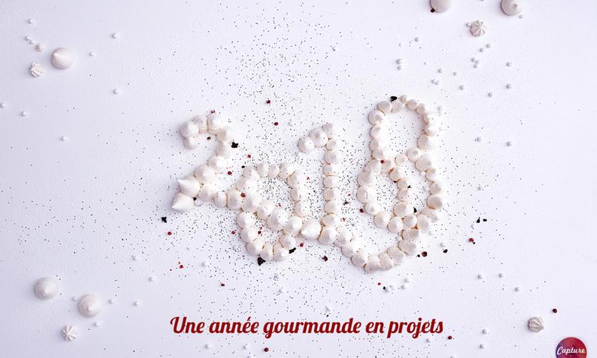 Carte Voeux Capture Communication 2018 - Agence Communication Caen
