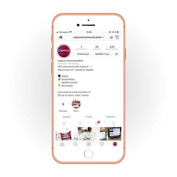 Bio Capture Communication Instagram