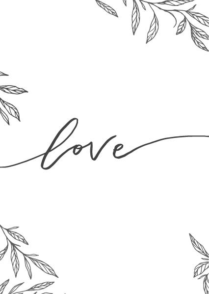 Carte de St Valentin à imprimer DIY