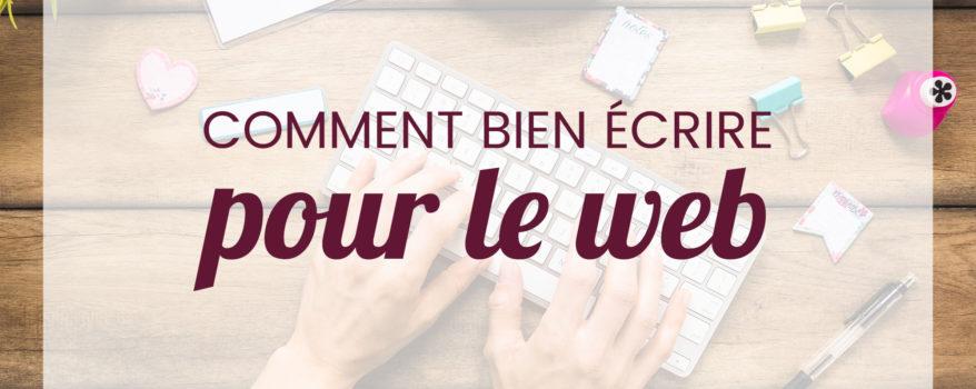 Webmarketing Comment Bien Ecrire Pour Le Web