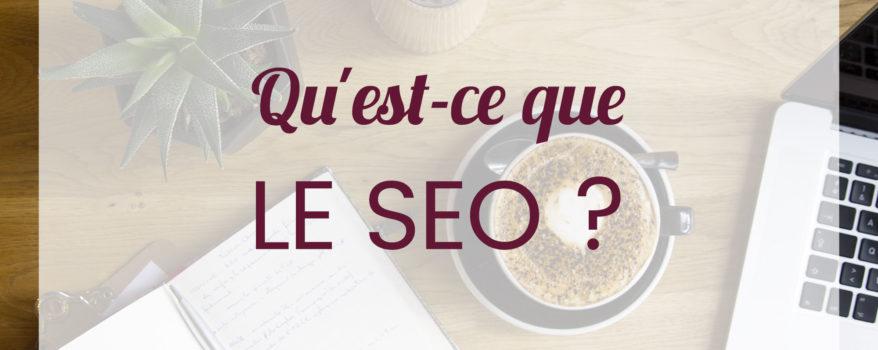 Webmarketing Quest ce que le SEO
