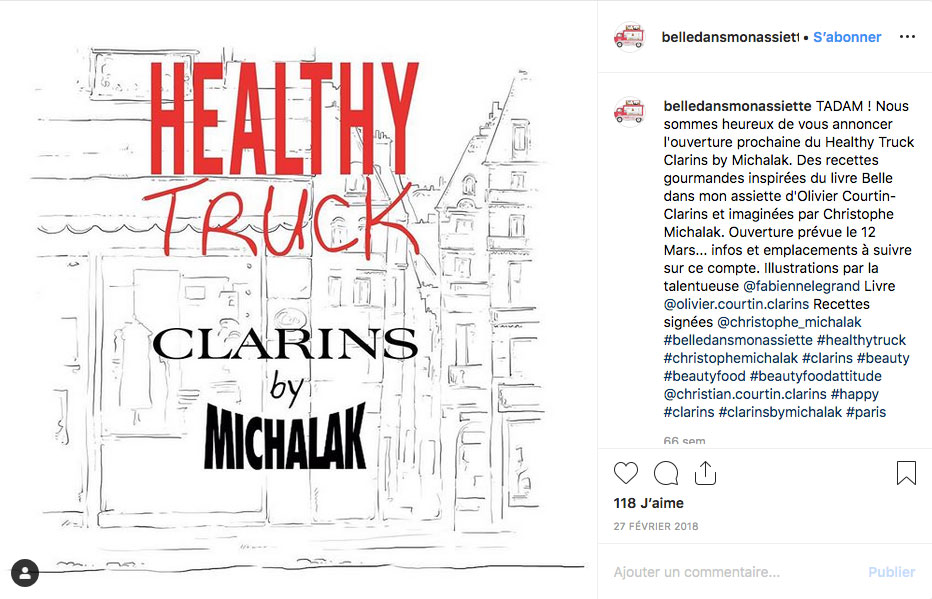 Influenceurs Marketing Influence Clarins
