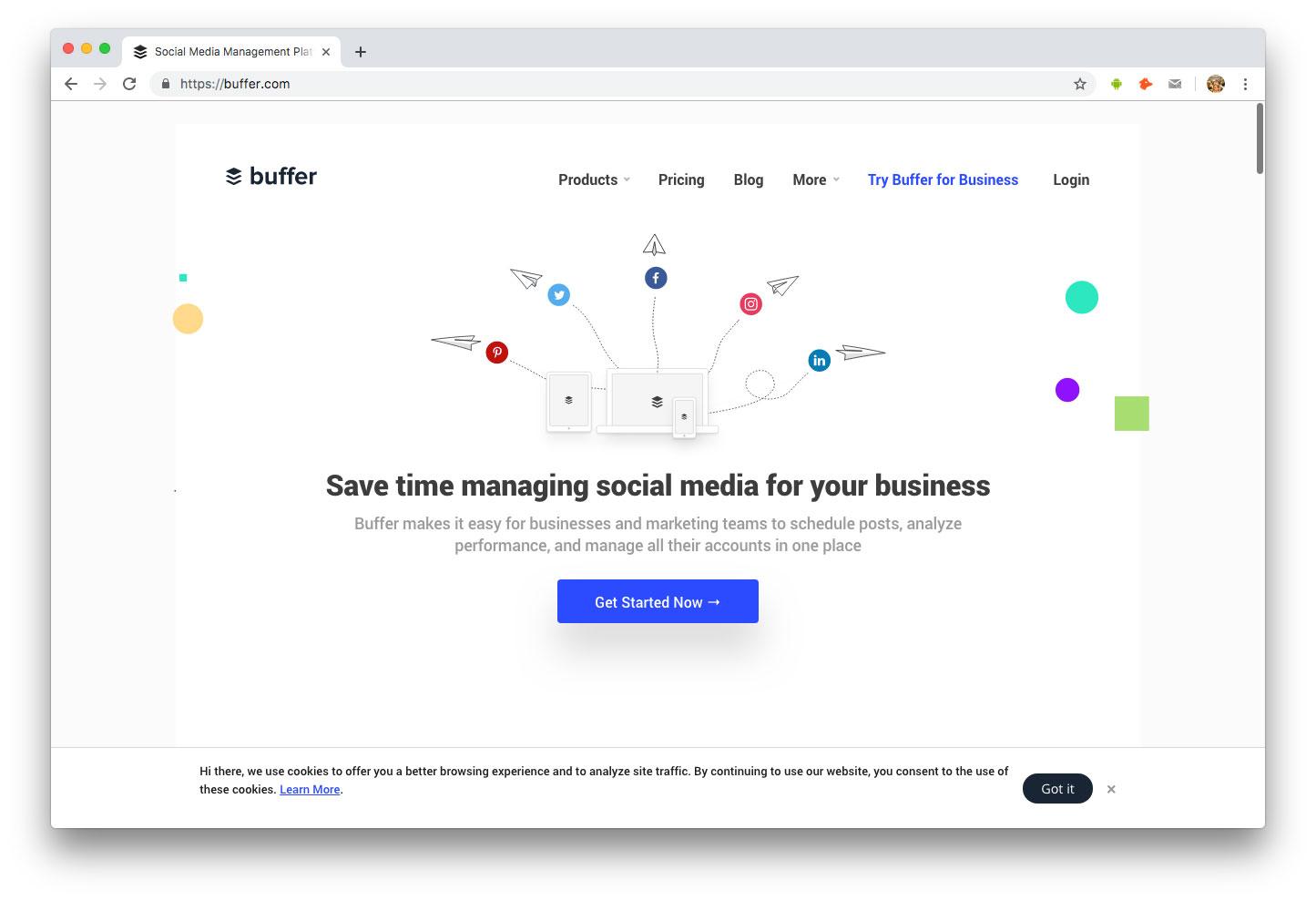 Influenceurs Marketing Influence outils Buffer