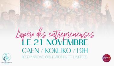 Apéro Entrepreneuses Caen Jekiffmaviedentrepreneuse Kokliko